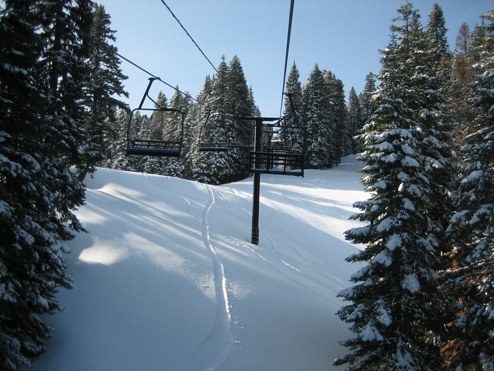 Chairlift at Bluewood, WAundefined