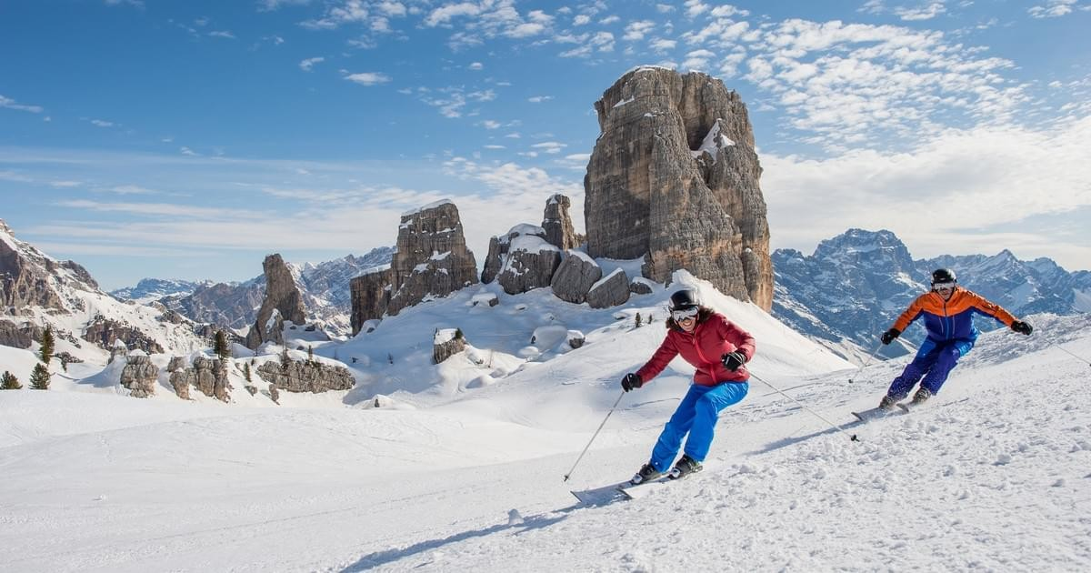 Awesome scenery in Cortina (Dolomiti Superski)undefined
