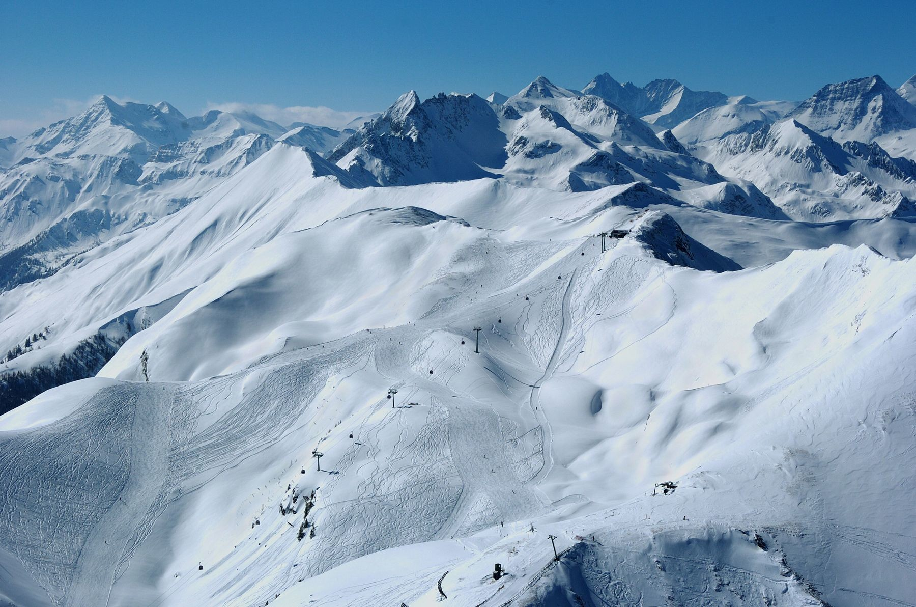 Panorama der Hochalmbahnen Raurisundefined